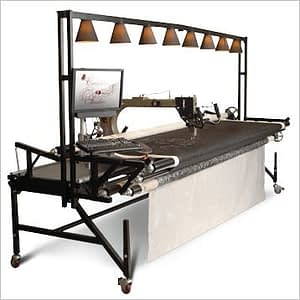 "The ""Cadillac"" of quilting machines"